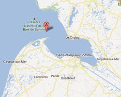 Vue panoramique exceptionnelle : mer, Baie de Somme, hble d Ault